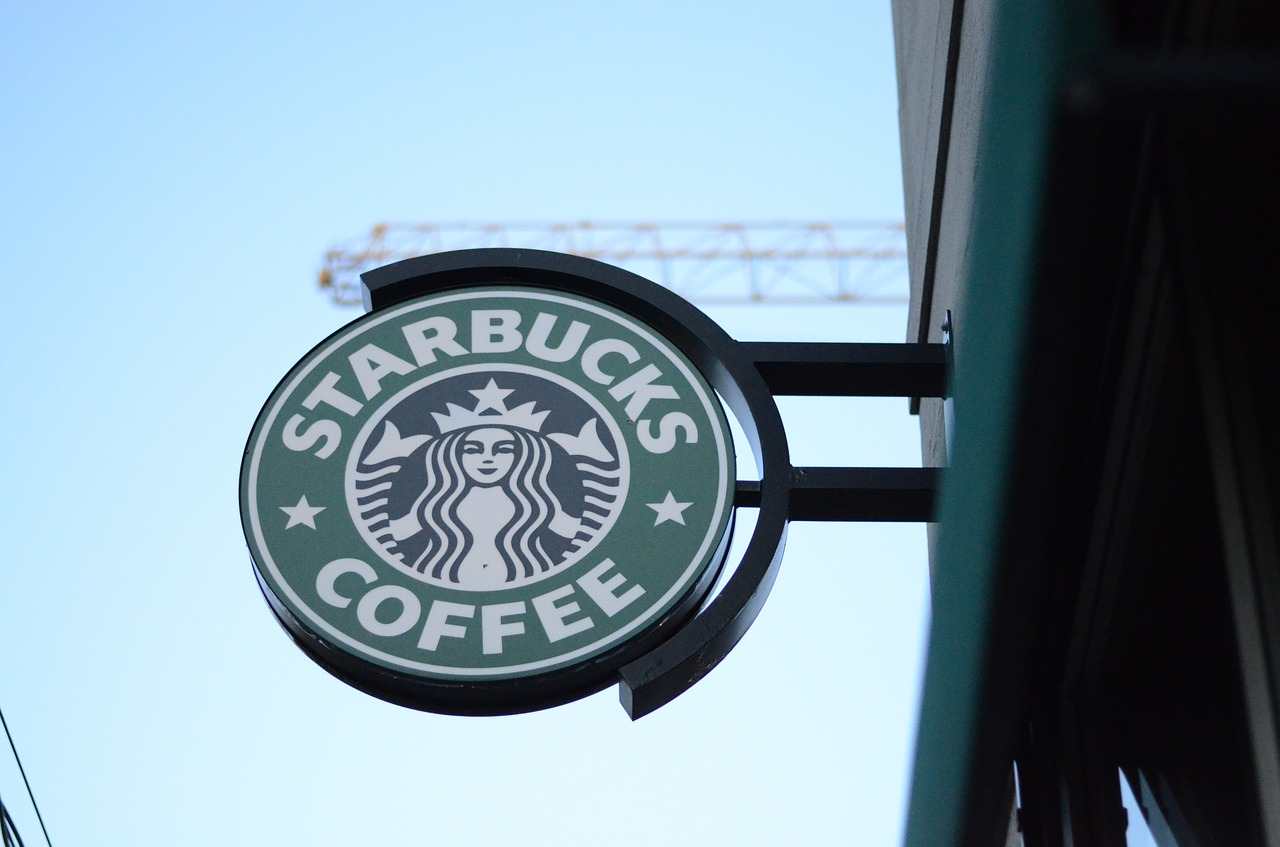 Starbucks Logo in München