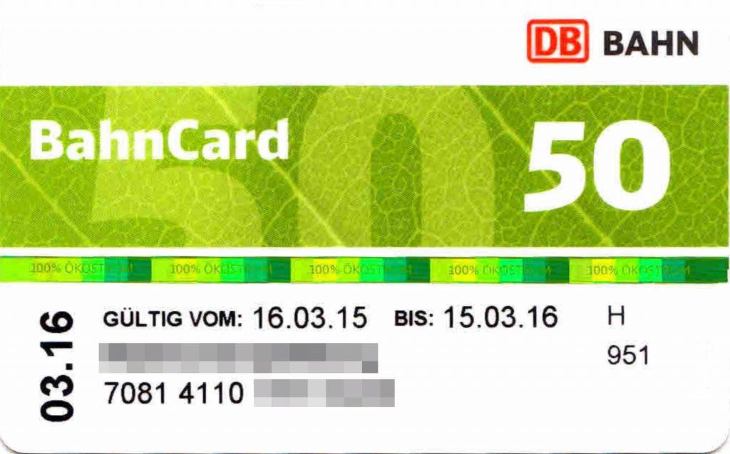 Db Jugendbahncard